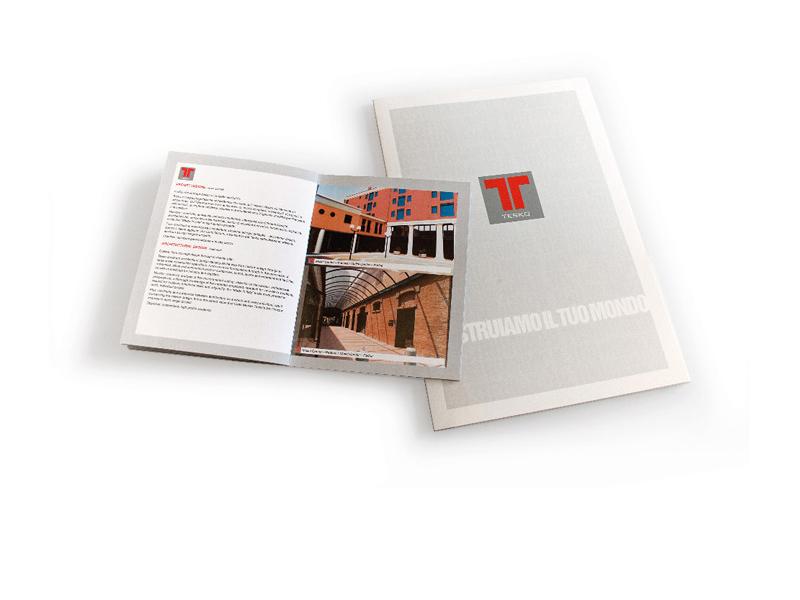 brochure aziendale - cartellina